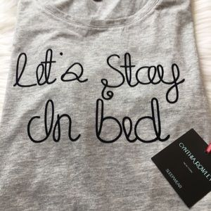 Cynthia Rowley Intimates & Sleepwear - NWT Cynthia Rowley Sleepwear Sleep Tee / Dress XL